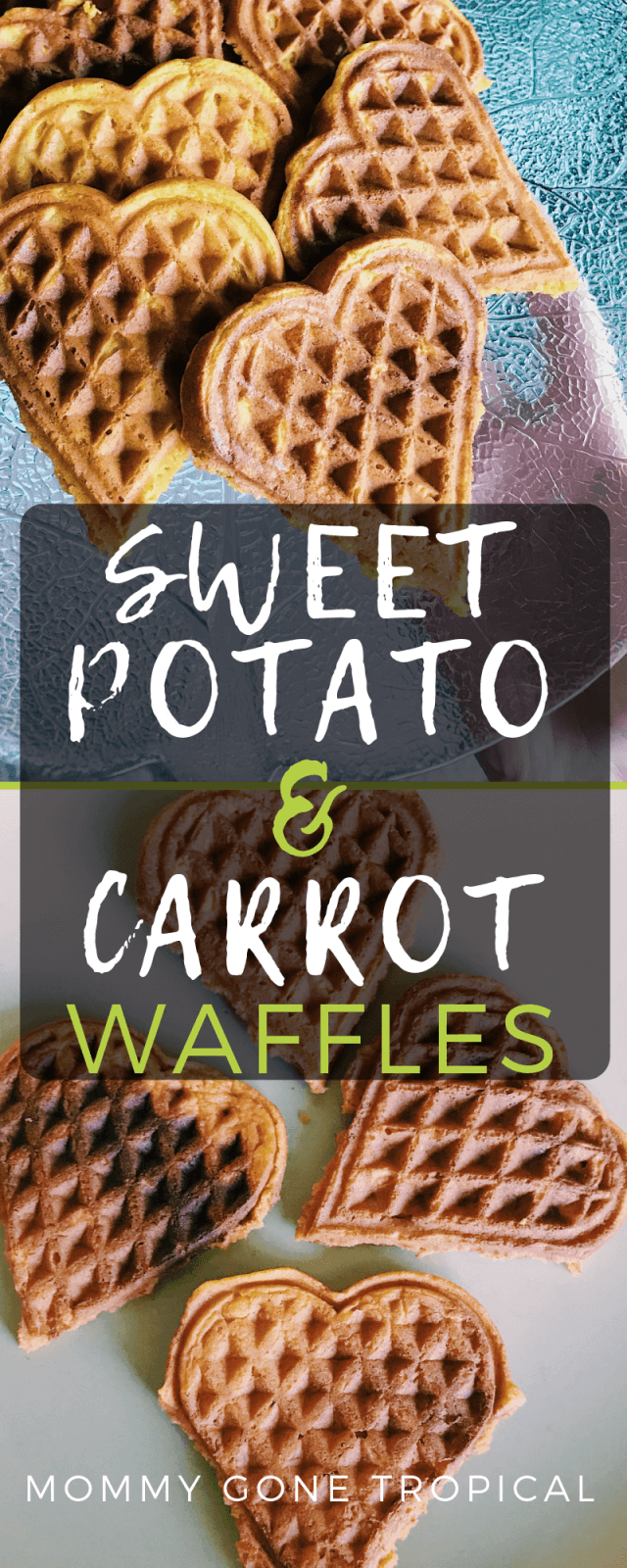 Sweet Potato Carrot Waffles