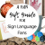 A Fun Gift Guide For Sign Language Fans